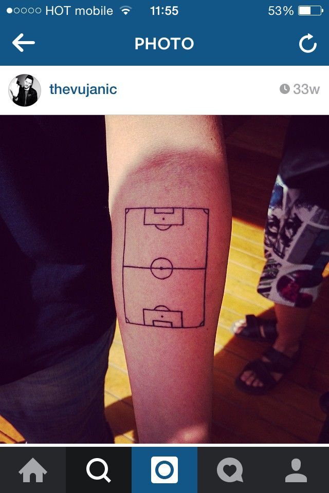 Tribal soccer tattoos