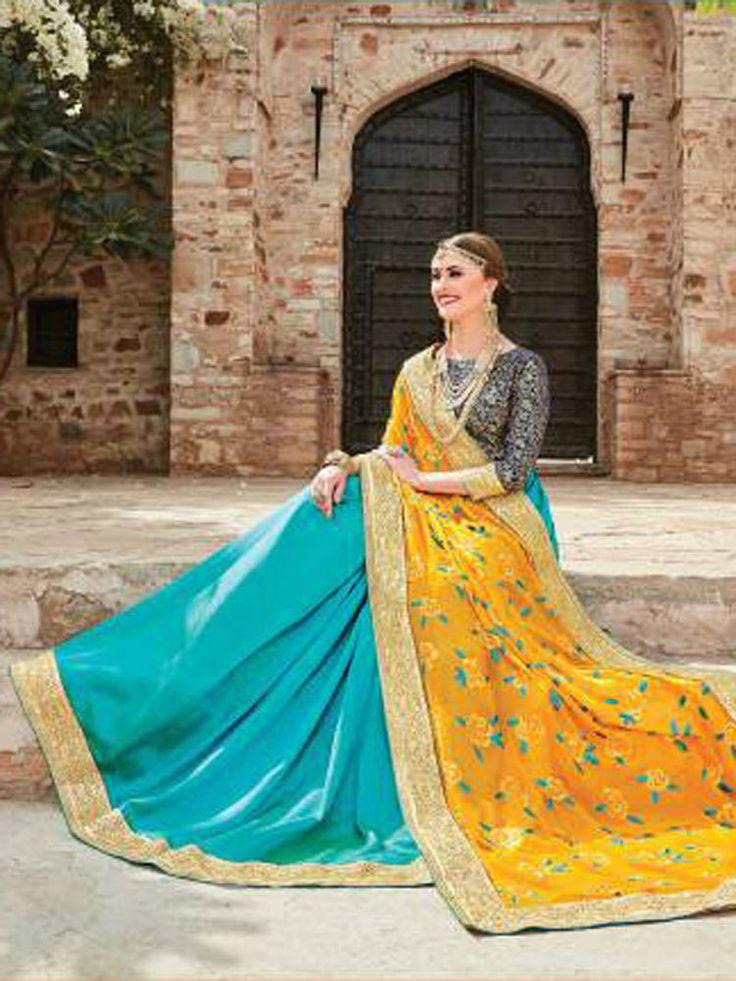Indian designer wedding bridal bollywood  heavy work saree blouse for marriage | eBay
