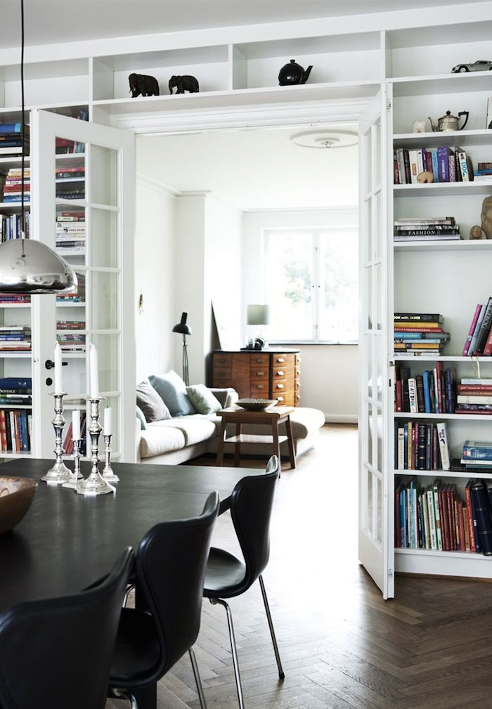 AN ELEGANT TOWNHOUSE IN COPENHAGEN, DENMARK | THE STYLE FILES