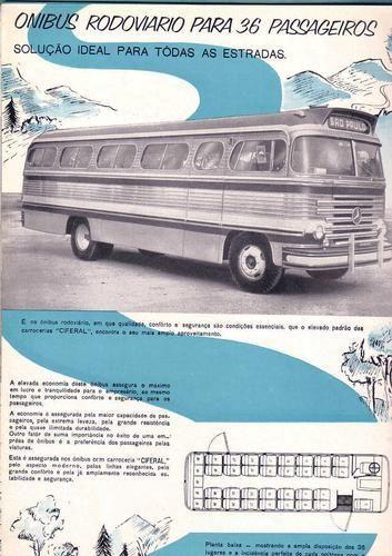 onibusantigos | Ciferal Rodoviario Mercedes Benz 1955