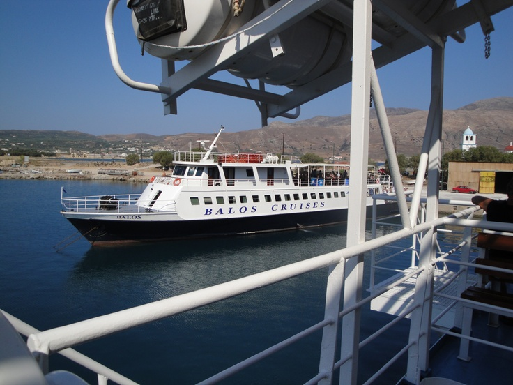 Boat to Gramvousa and Balos