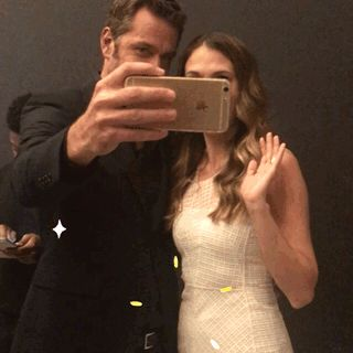 New trendy GIF/ Giphy. selfie younger sutton foster paley center liza miller peter hermann paley paleyfest ny charles brooks. Let like/ repin/ follow @cutephonecases