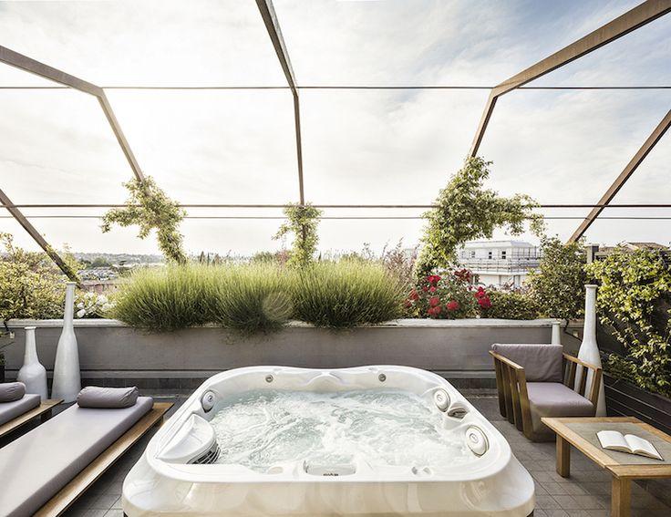 Suite con Terrazzo Vista Lago di Garda | Hotel di Lusso Peschiera del Garda