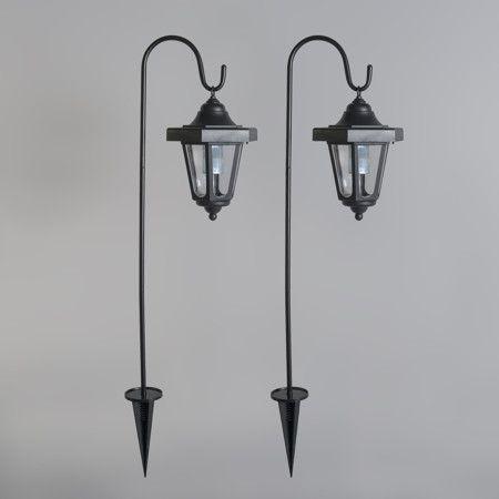Spießleuchte Lintera schwarz LED Solar 2er Set - Gefällt Ihnen dieses unverwechselbare, klassische Design? Diese Variante bietet ein einzigartiges Design mit moderner Technik. Die Spießleuchte Lintera ist mit einem LED-/Solar-Modul und Dämmerungssensor ausgestattet. #lampenundleuchten.de