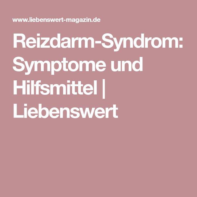 Reizdarm-Syndrom: Symptome und Hilfsmittel   Liebenswert