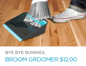 best dustpan ever- I need this! This would be perfect for when I have to sweep up hair...