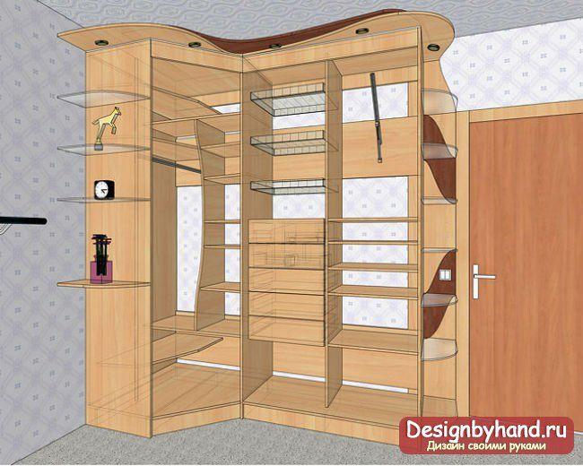 Как самому сделать шкаф?