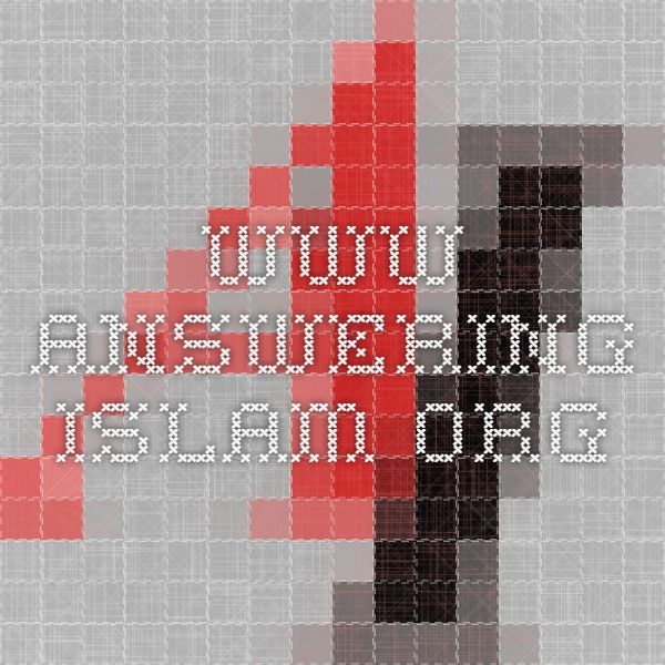 www.answering-islam.org