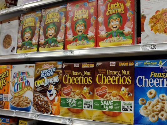 General Mills to Eliminate Artificial Colors from Breakfast Cereals, USA Today