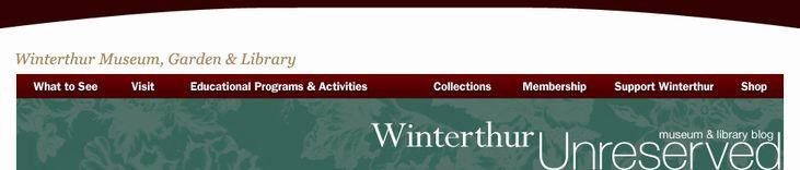 Winterthur Museum & Library Blog