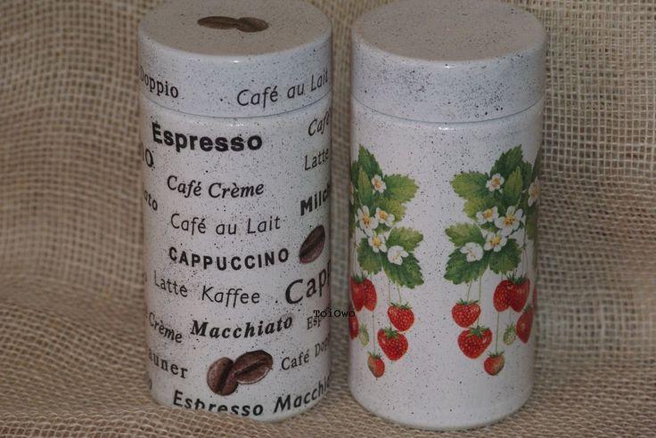 decoration,decoupage,espresso,diy,słoik