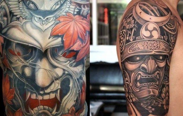tatuajes-de-samurais-en-el-brazo