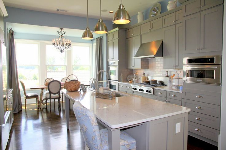 Benjamin Moore Galveston Grey Ac 27 Kitchen From Gwyneth