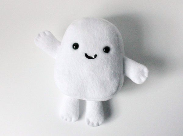 How to Make an Adipose Plush Toy from Doctor Who – Arts & Crafts – Tuts+