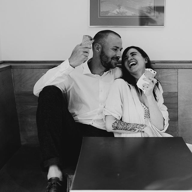 Ice Cream Shop Couples Photo Photoby Mary Calotes Photography