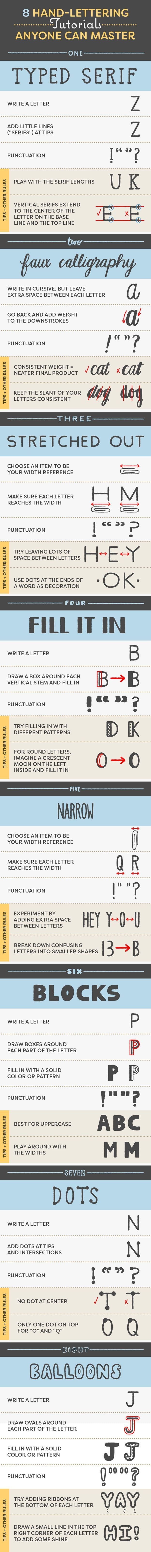 Or, read through these tips for beautiful calligraphy.