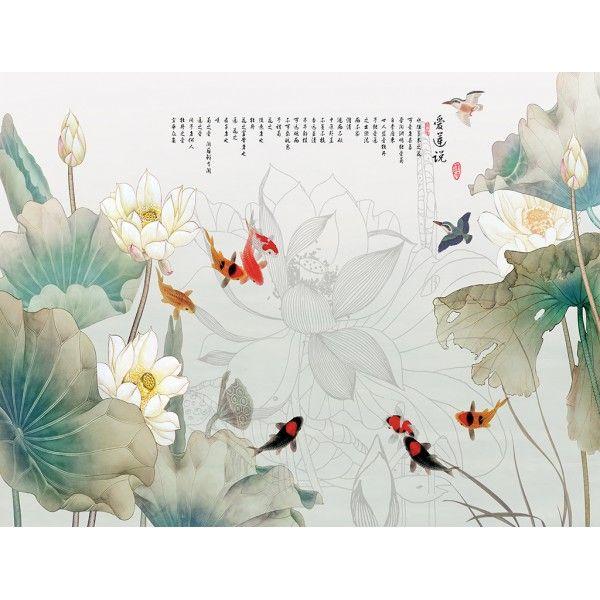 Les 25 meilleures id es de la cat gorie papier peints for Carpe chinoise prix
