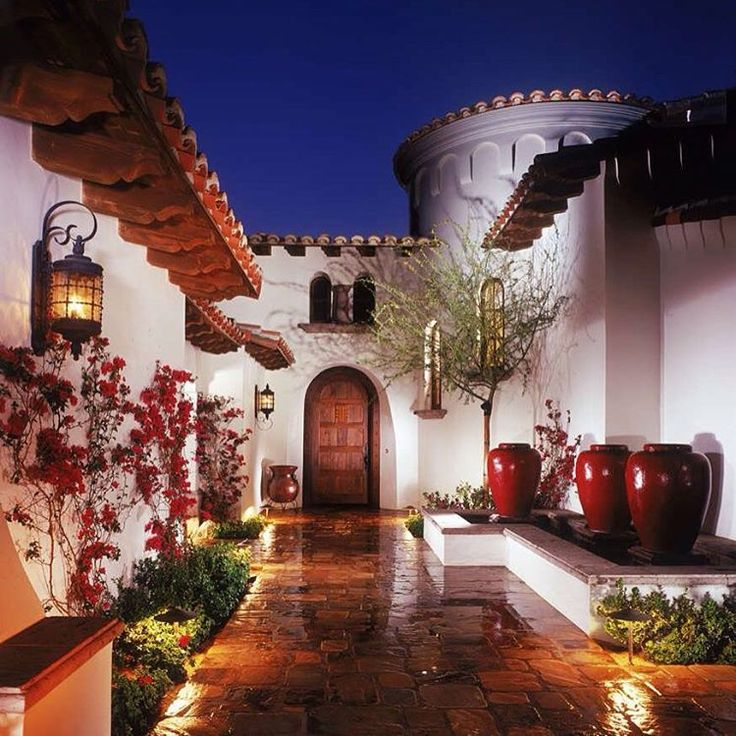 Spanish Style Home Exteriors: 1069 Best Mexican Home Exteriors Images On Pinterest