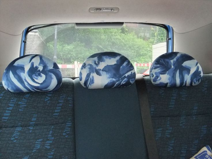 car head rest upholstery