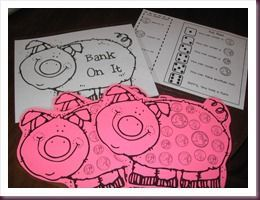 FREE Math Money Centers.  This post has three great center ideas for working with money.  There are directions and FREE downloads of all the materials you will need.  Just print and laminate.  Great hands on way for your students to begin learning about money.  Get these FREE centers at:  http://oceansoffirstgradefun.blogspot.com/2010/11/money-honey.html