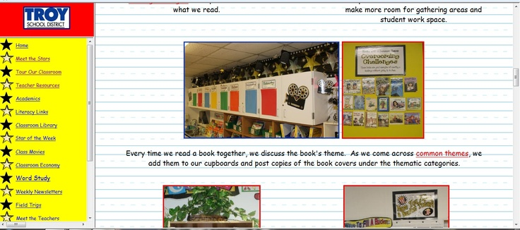 http://hill.troy.k12.mi.us/staff/bnewingham/myweb3/    After reading a story, Have a copy of the cover made and use it to sort topics by themes  K-6: Writing Handson
