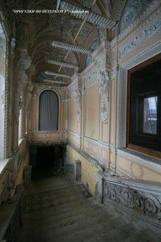 Парадная лестница в особняке Брусницыных. 2009.02.28.