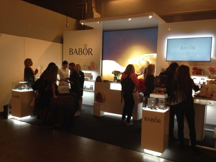 BABOR Sverige på mässan Hud & kosmetik 2014  www.baborsverige.se