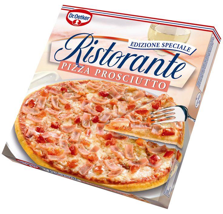 Pizza Ristorante Prosciutto #droetker #pizza