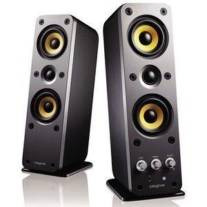 Creative GigaWorks II Series T40 2.0 Speaker System - 32 W RMS - Glos, #51MF1615AA002