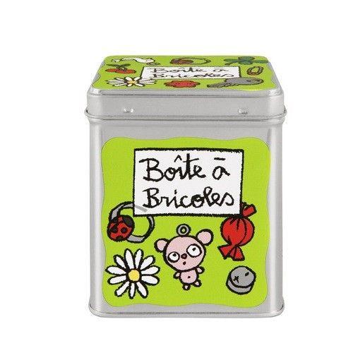 Une jolie boîte pour les fèves