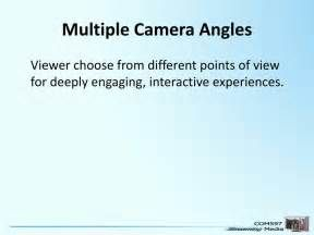 Search Multiple camera angle streaming. Views 19543.