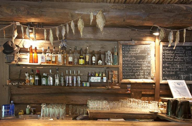 Rustic bar carolina restaurant pinterest for Rustic log bar