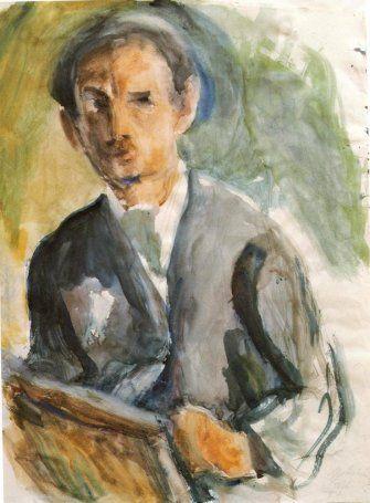 Self Portrait, 1926  George Bouzianis