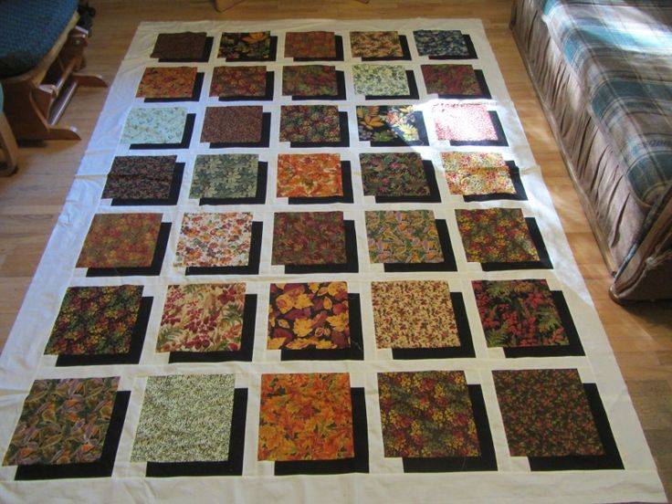 Name:  foliage layer cake quilt.