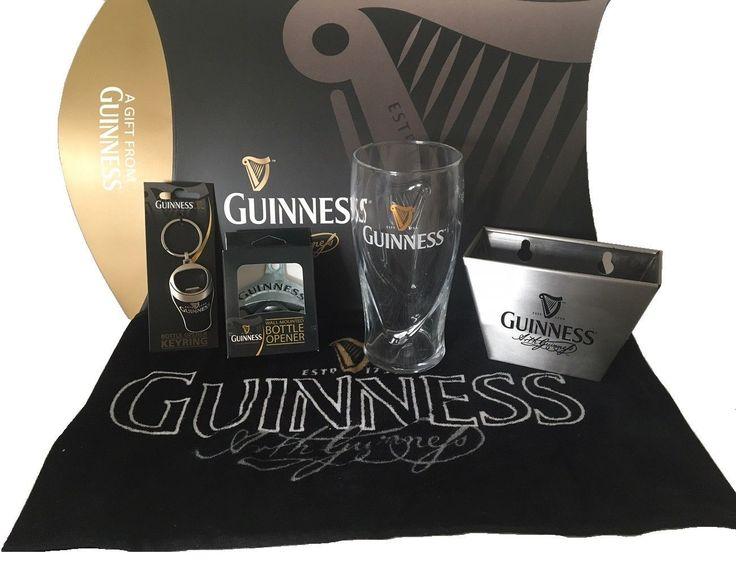 Guinness Gift Set Opener & Pint Pack From Ireland