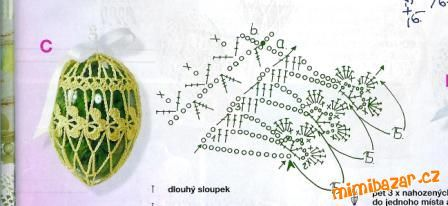 háčkovaná vajíčka návod - Szukaj w Google