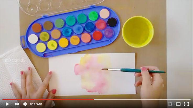 ® Marta Juez-Mi Scrap Lab / VIDEOTUTORIAL: PERSONALIZANDO MI CUADERNO CREATIVO