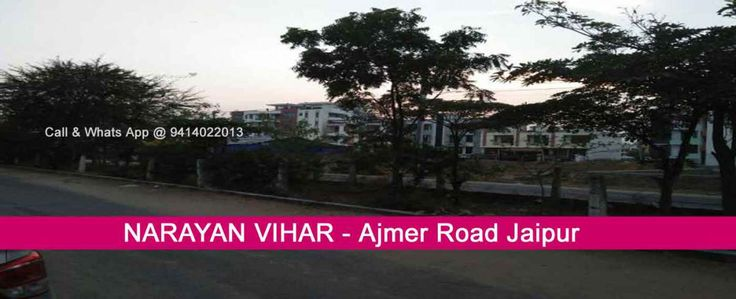 Narayan Vihar Jaipur Jda Approved Plots Residential & Commercial Plots, Flats, House, Villas, Duplex for Sell Narayan Vihar Ajmer Road Jaipur
