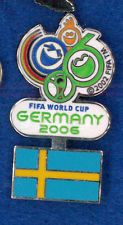 Germany 2006 World Cup soccer pin - Sweden flag - FIFA football badge