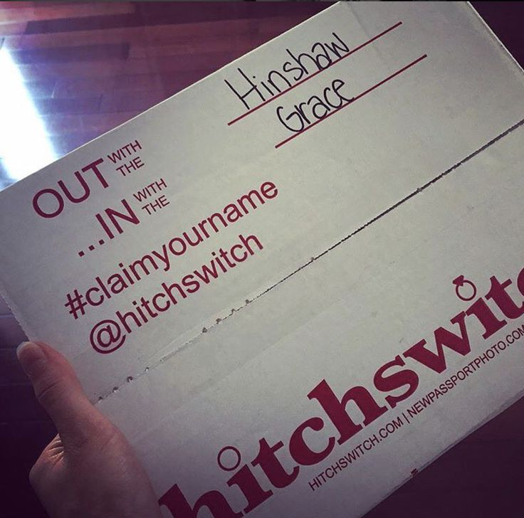 In with it 👌🏻 #HitchSwitch #claimyourname #HappyFriday 📸: @ashley_hinshaw