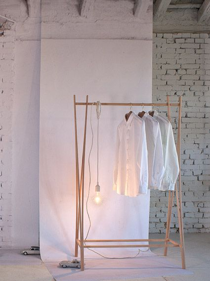 TRA-RA Wardrobe For Zilio A, 2011. solid Beech