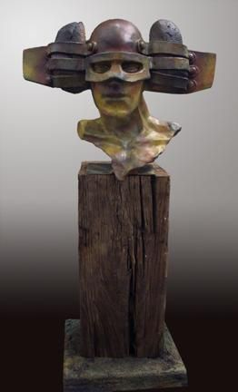 """The Messenger"" by Renzo Bronze Sculpture Edition Size: 55 SN Size: 20""h x 20""w x 10""d"