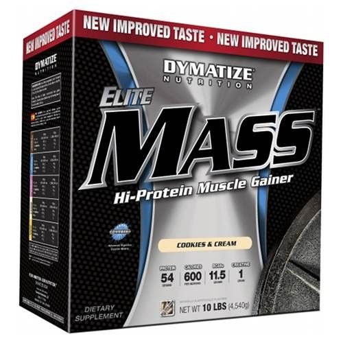 #bodybuilding #suplemen DYMATIZE ELITE MASS GAINER 10 LBS