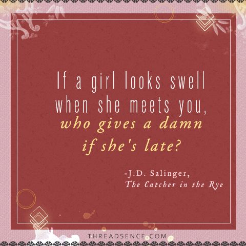 Love this quote, love this book, love being a girl.