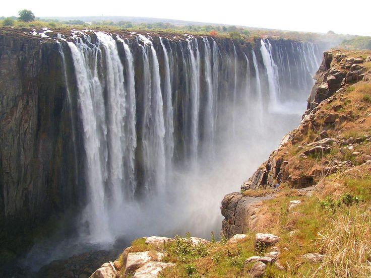 Водопад Виктория (Victoria), Южная Африка | HD-фото, редкие фото, красивые обои на рабочий стол