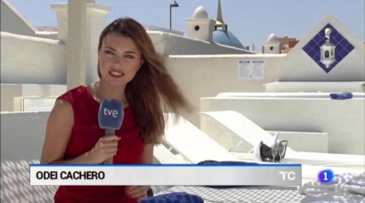 Reportaje turismo de lujo. Telecanarias, en La 1 de TVE. Odei Cachero.