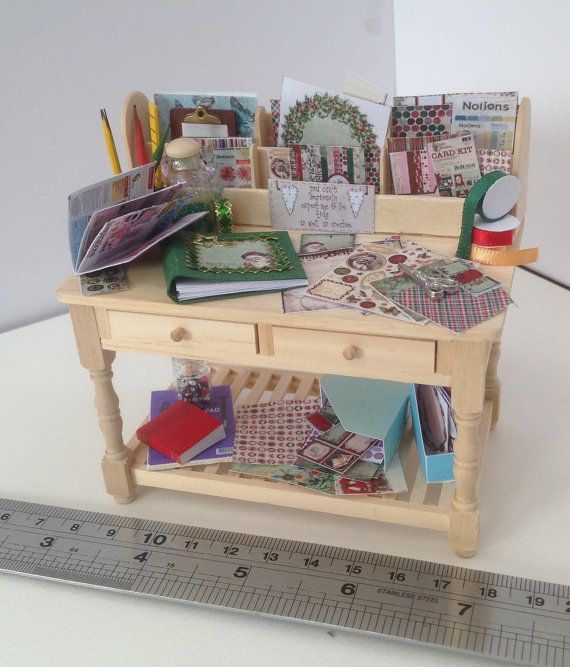 Dolls House Miniatures Scrapbook van LittleHouseAtPriory op Etsy