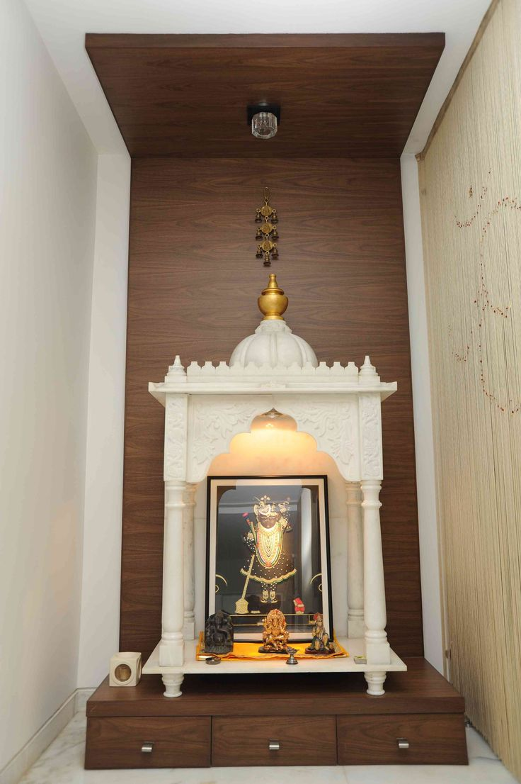 64 Best Mandir Prayer Space Design Ideas Small Spaces Images On Pinterest Eid Prayer