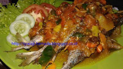 Resep Ikan Kembung Pedas Manis