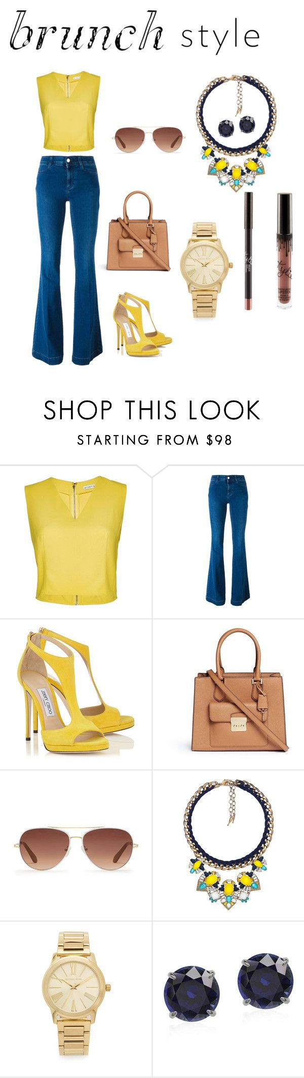 Ya sabes que usar para tu special brunch? by nmartinez0610 on Polyvore featuring Alice + Olivia, STELLA McCARTNEY, Michael Kors, Chloe + Isabel and Stella & Dot